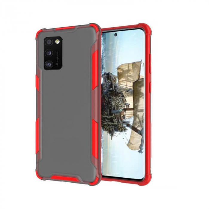 Husa Samsung Galaxy A41 Antisoc Rosu 0