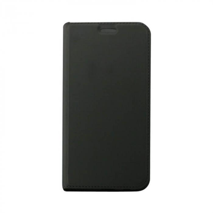 Husa Flip Samsung Galaxy A41 Tip Carte Negru Focus [0]