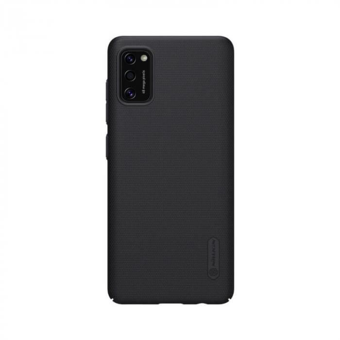 Husa Silicon Samsung Galaxy A41 Negru Nillkin Frosted 0