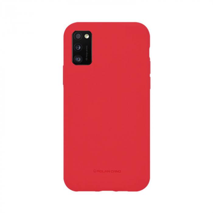 Husa Samsung Galaxy A41 Silicon Rosu Molan Cano [0]