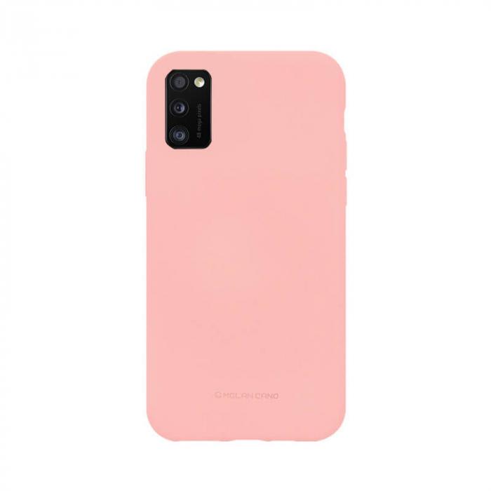 Husa Samsung Galaxy A41 Silicon Roz Molan Cano [0]