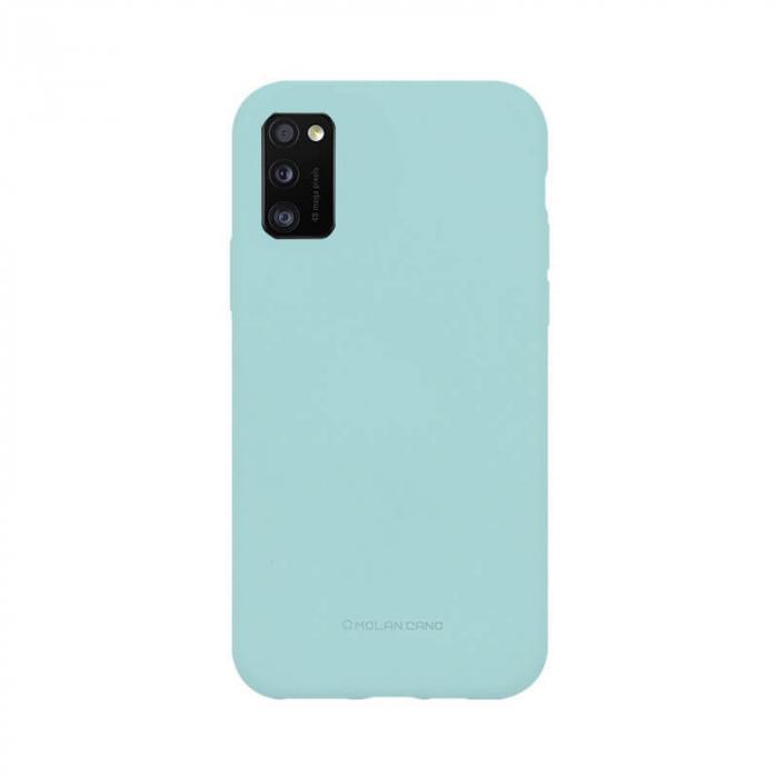 Husa Samsung Galaxy A41 Silicon Turcoaz Molan Cano 0
