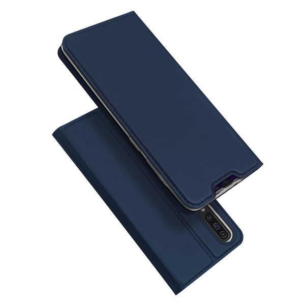Husa Samsung Galaxy A50 2019 Bleumarin Piele Eco Toc Tip Carte Portofel Premium DuxDucis [3]