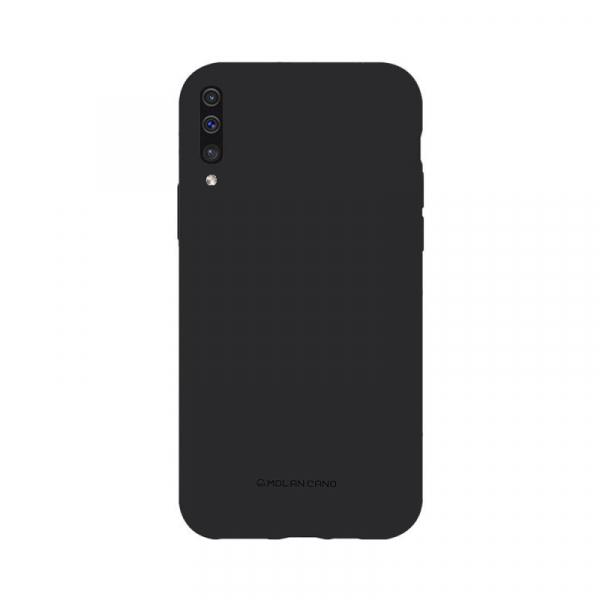 Husa Samsung Galaxy A50 2019 Roz Carcasa Silicon Mat Molan Cano 0