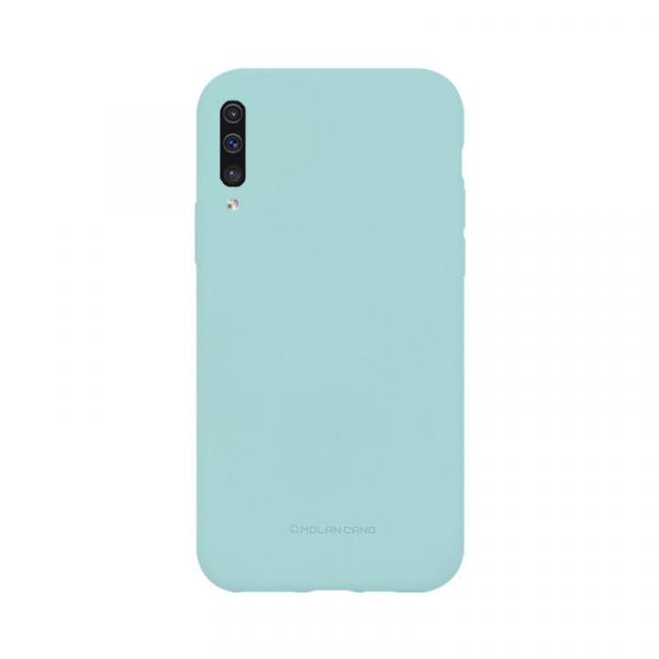 Husa Samsung Galaxy A50 2019 Turcoaz Carcasa Silicon Mat Molan Cano 0