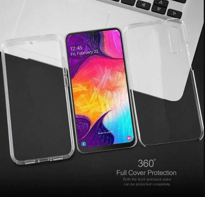 Husa Samsung Galaxy A50 Full Cover 360 Grade Transparenta [1]