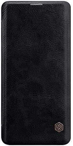 Husa Samsung Galaxy A51 2019 Negru Toc Flip Nillkin Qin Piele Eco Premium Tip Carte Portofel 4