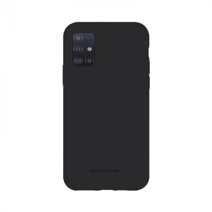 Husa Samsung Galaxy A51 Silicon Negru Molan Cano [0]