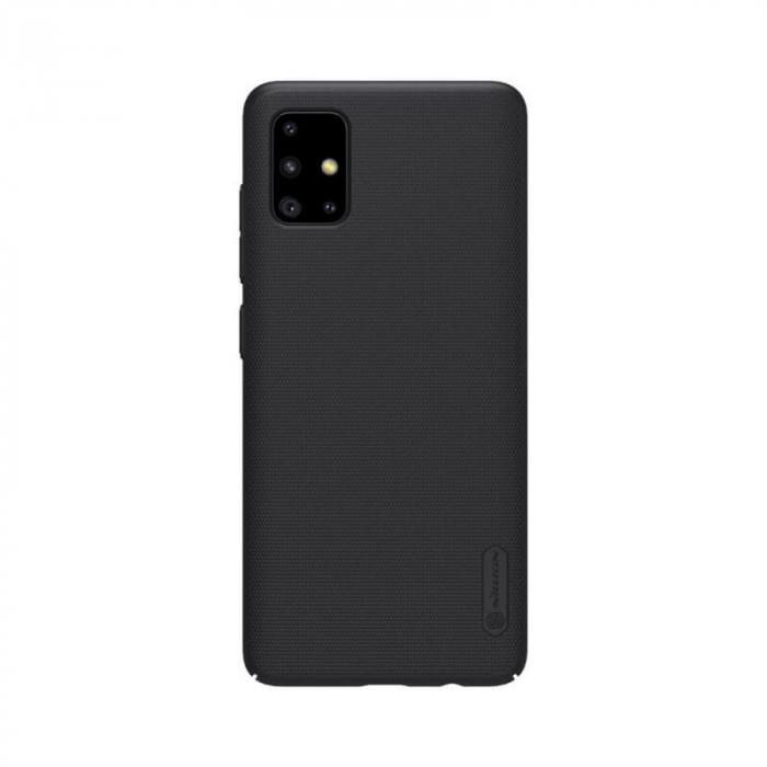 Husa Silicon Samsung Galaxy A51 Negru Nillkin Frosted 0