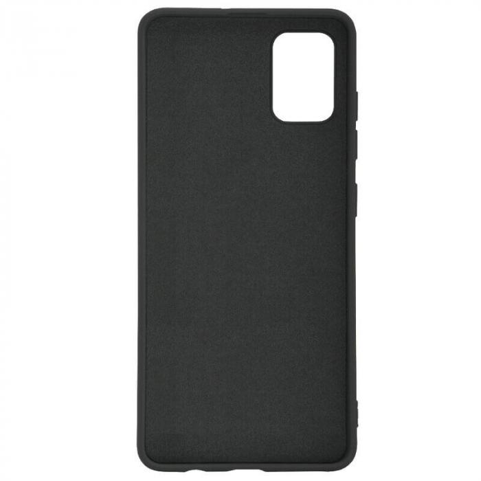 Husa Samsung Galaxy A51 Negru Silicon Slim protectie Premium Carcasa 1