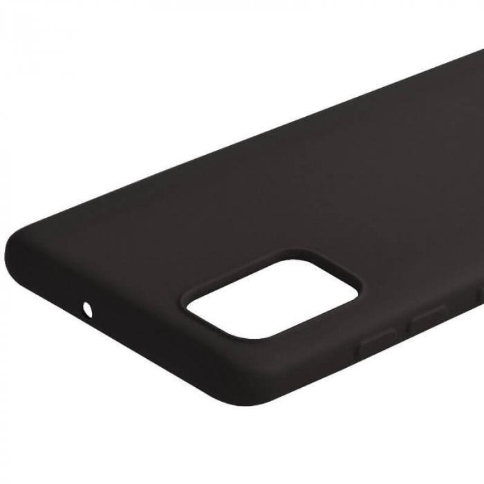 Husa Samsung Galaxy A51 Negru Silicon Slim protectie Premium Carcasa 4