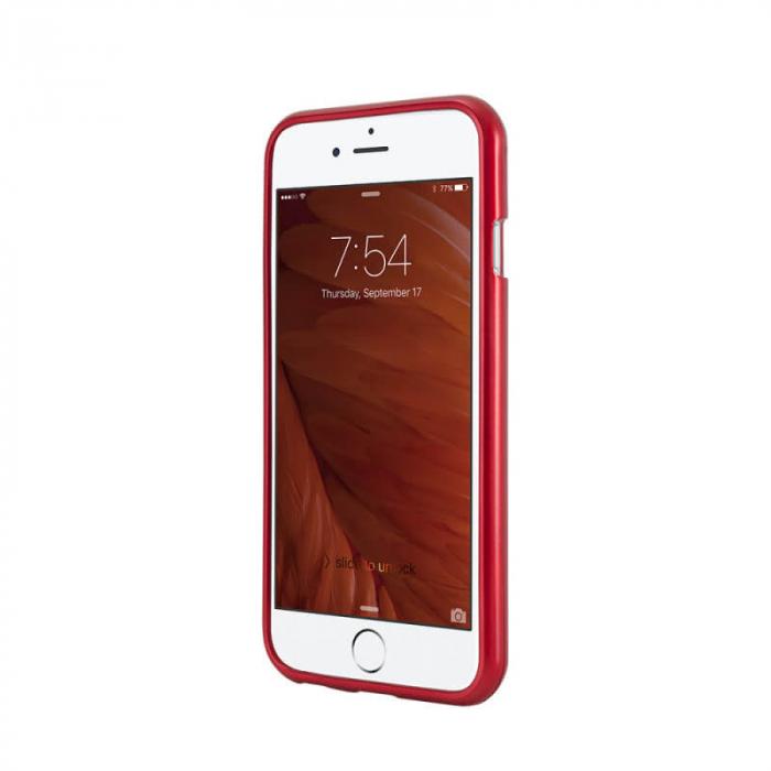 Husa Samsung Galaxy A51 Rosu Jelly Metal 1