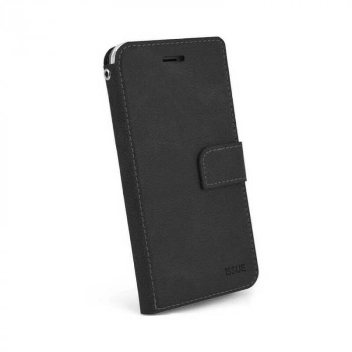Husa Flip Samsung Galaxy A51 Tip Carte Negru Magnetica Hana Issue [0]