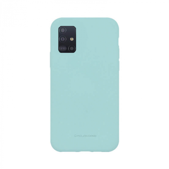 Husa Samsung Galaxy A51 Silicon Turcoaz Molan Cano [0]