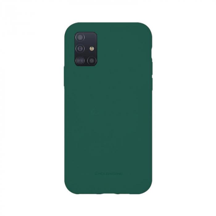 Husa Samsung Galaxy A51 Silicon Verde Molan Cano [0]