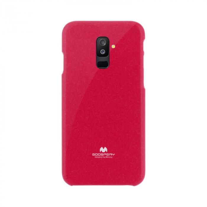 Husa Samsung Galaxy A6 Plus 2018 Rosu Mercury Jelly 0
