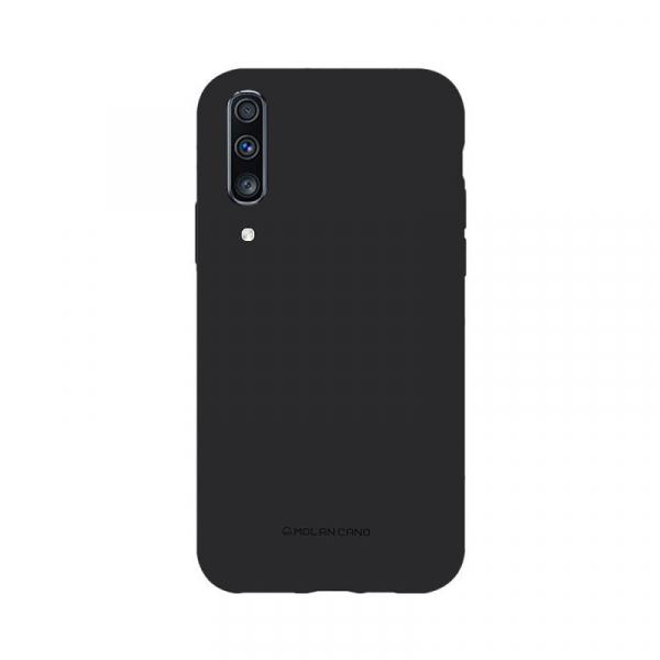 Husa Samsung Galaxy A70 2019 Negru Carcasa Silicon Mat Molan Cano 0