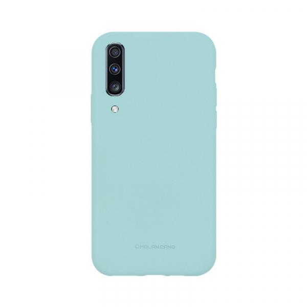 Husa Samsung Galaxy A70 2019 Turcoaz Carcasa Silicon Mat Molan Cano 0