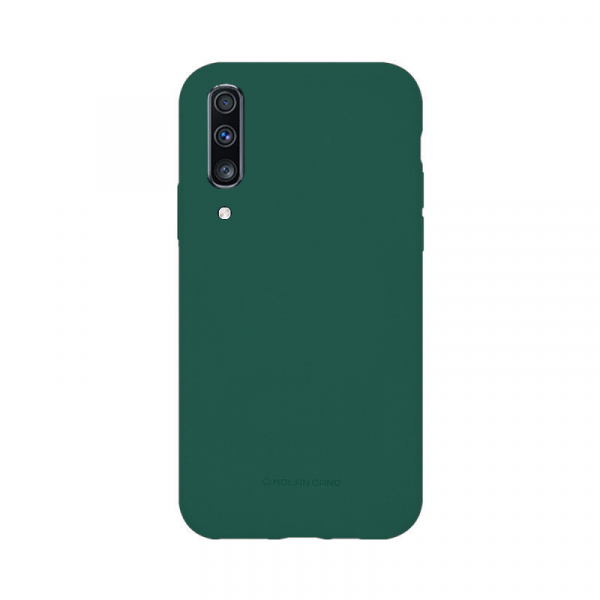 Husa Samsung Galaxy A70 2019 Verde Carcasa Silicon Mat Molan Cano 0