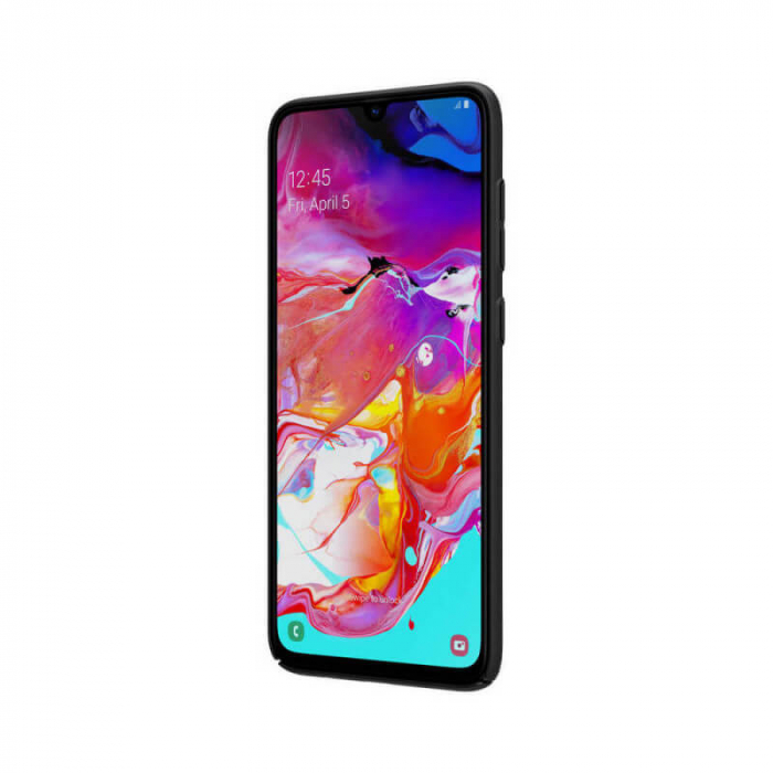 Husa Silicon Samsung Galaxy A70 Negru Nillkin Frosted [1]