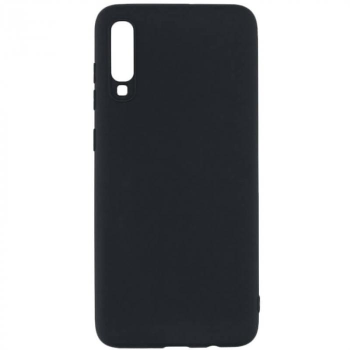 Husa Samsung Galaxy A70 Negru Silicon Slim protectie Premium Carcasa 0