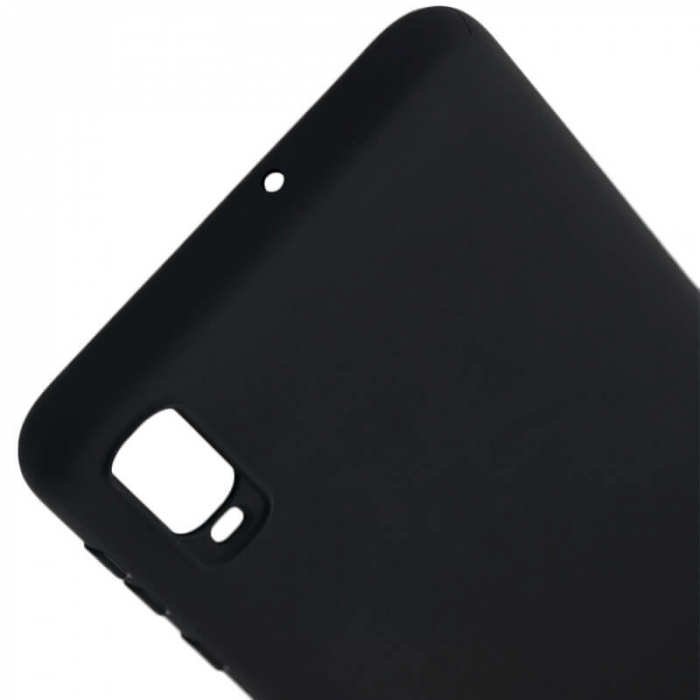 Husa Samsung Galaxy A70 Negru Silicon Slim protectie Premium Carcasa 4