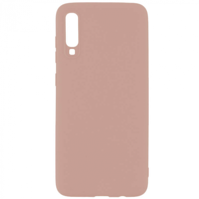 Husa Samsung Galaxy A70 Roz Silicon Slim protectie Premium Carcasa 0