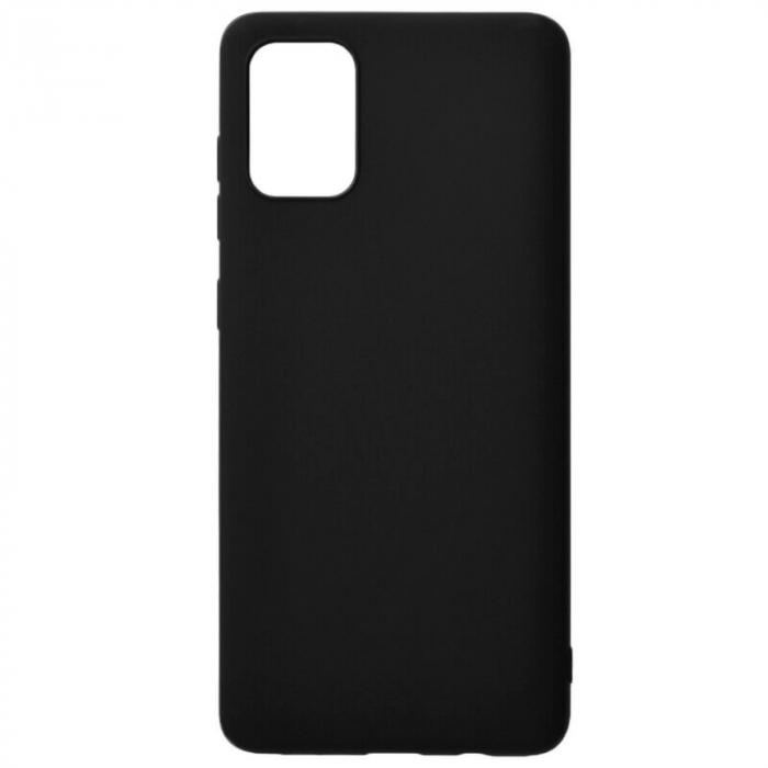 Husa Samsung Galaxy A71 2020 Negru Silicon Slim protectie Carcasa 0