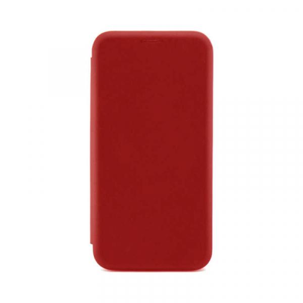 Husa Samsung Galaxy A71 2020 Rosu Tip Carte /Toc Flip din Piele Ecologica Portofel cu Inchidere Magnetica 0