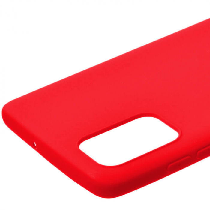 Husa Samsung Galaxy A71 2020 Rosu Silicon Slim protectie Carcasa [1]