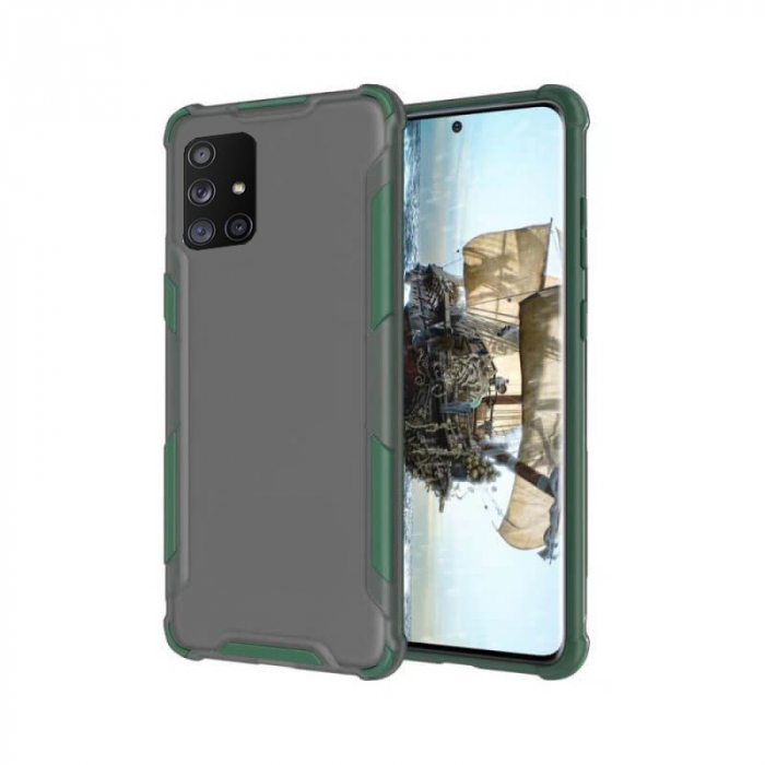 Husa Samsung Galaxy A71 Antisoc Verde 0