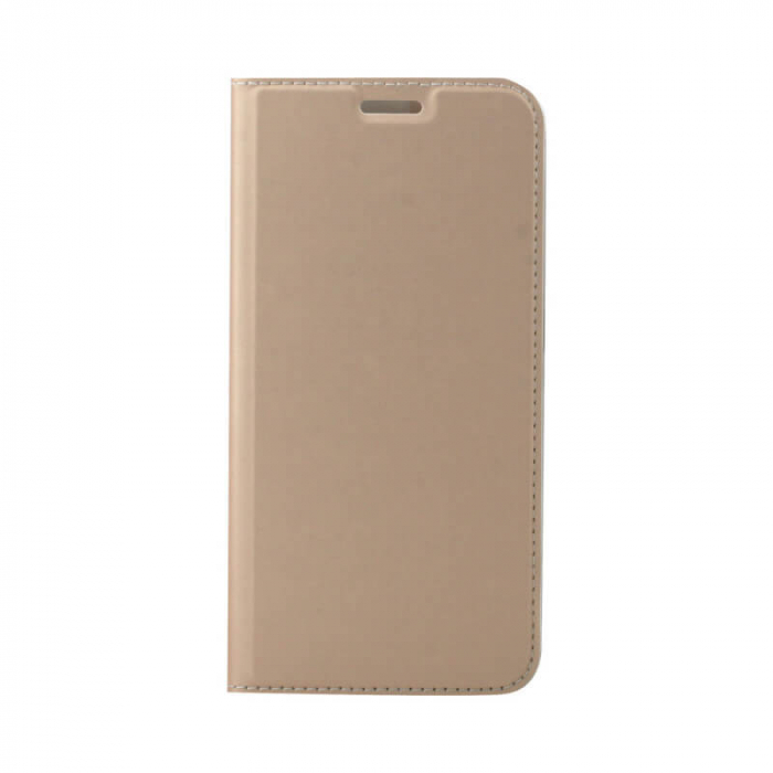 Husa Flip Samsung Galaxy A71 Tip Carte Auriu Focus [0]