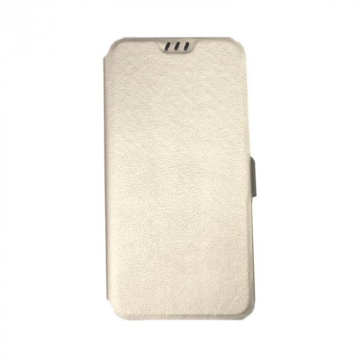 Husa Samsung Galaxy A71 Auriu Flip Cover Atlas Smart [0]