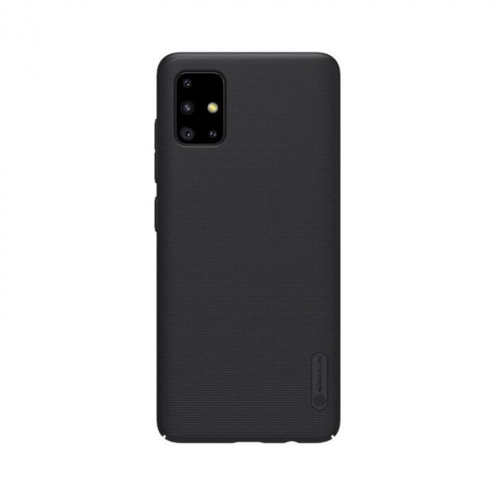 Husa Silicon Samsung Galaxy A71 Negru Nillkin Frosted 0