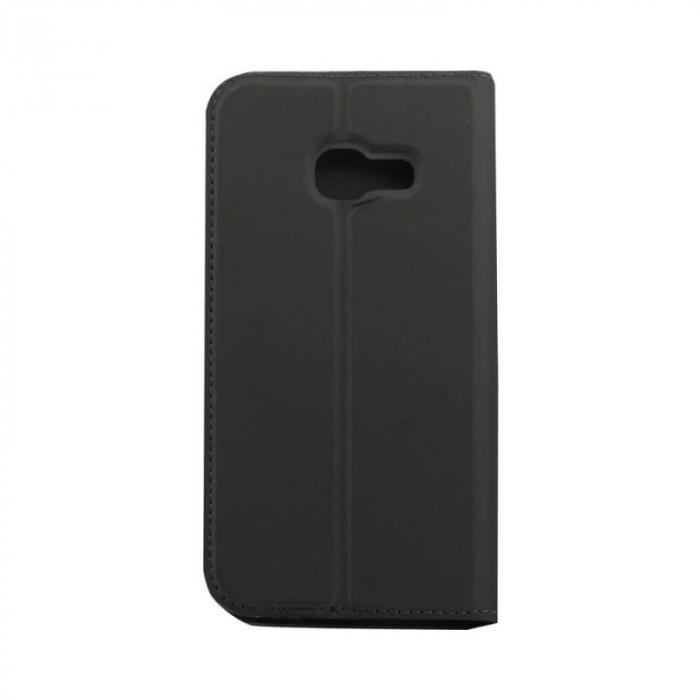 Husa Flip Samsung Galaxy J4 Plus 2018 Tip Carte Negru Focus 2