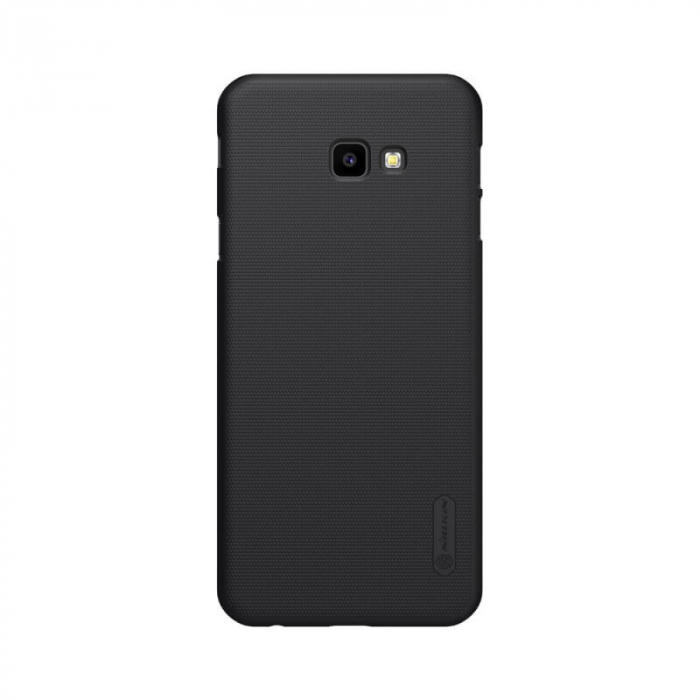 Husa Silicon Samsung Galaxy J4 Plus 2018 Negru Nillkin Frosted 0