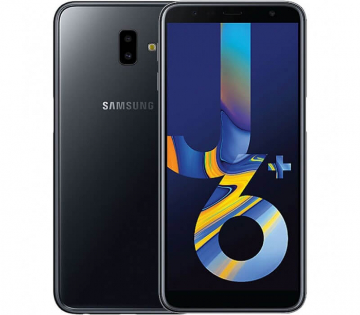 Husa Samsung Galaxy J6 Plus Flip Oglinda Negru Tip Carte Clear View [5]