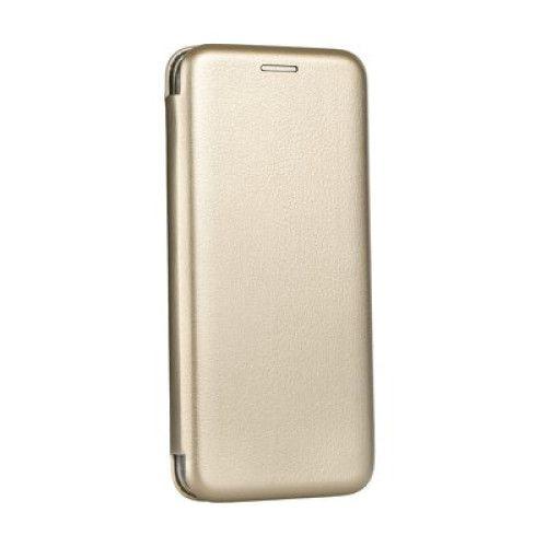 Husa Samsung Galaxy Note 9 Tip Carte Flip Cover din Piele Ecologica Auriu (Gold) 0