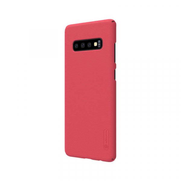 Husa Samsung Galaxy S10 2019 Carcasa Spate Roz Premium Nillkin Frosted 2