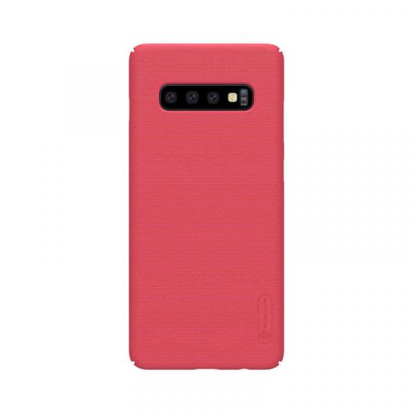 Husa Samsung Galaxy S10 2019 Carcasa Spate Roz Premium Nillkin Frosted 0