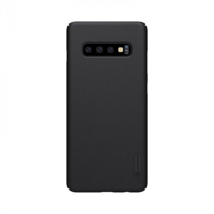 Husa Silicon Samsung Galaxy S10 Plus Negru Nillkin Frosted 0