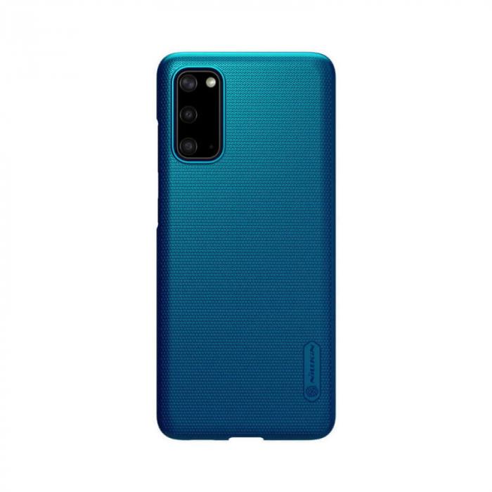 Husa Silicon Samsung Galaxy S20 Albastru Nillkin Frosted 0