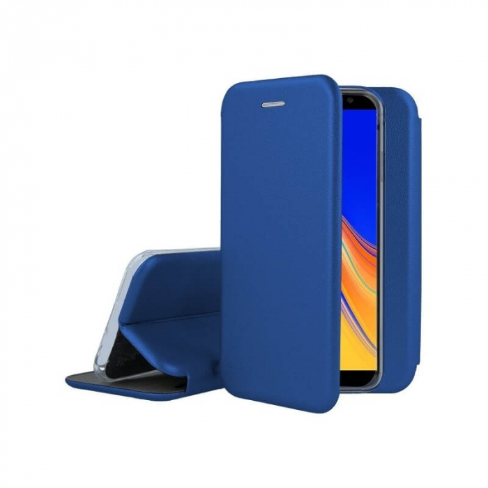 Husa Samsung Galaxy S20 FE Albastru Tip Carte Flip Cover din Piele Ecologica Portofel cu Inchidere Magnetica 1