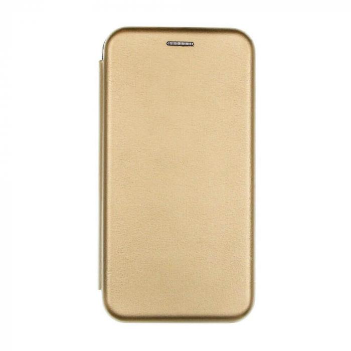 Husa Samsung Galaxy S20 FE Auriu Gold Tip Carte Flip Cover din Piele Ecologica Portofel cu Inchidere Magnetica 0