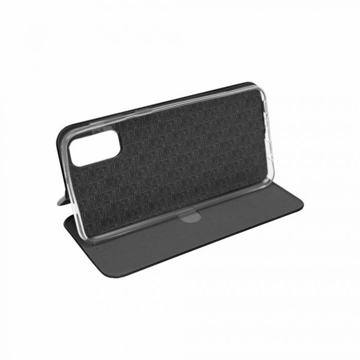 Husa Samsung Galaxy S20 FE Negru Tip Carte Flip Cover din Piele Ecologica Portofel cu Inchidere Magnetica 2