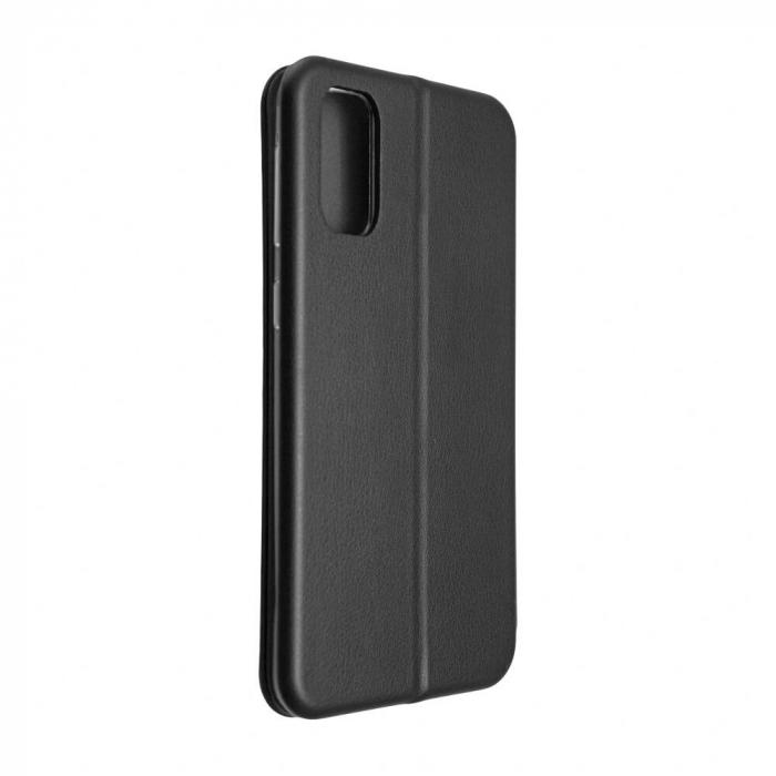 Husa Samsung Galaxy S20 FE Negru Tip Carte Flip Cover din Piele Ecologica Portofel cu Inchidere Magnetica 3