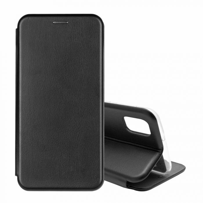 Husa Samsung Galaxy S20 FE Negru Tip Carte Flip Cover din Piele Ecologica Portofel cu Inchidere Magnetica 1