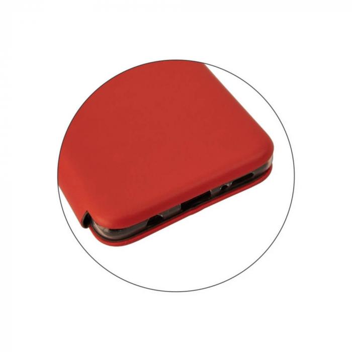 Husa Samsung Galaxy S20 FE Rosu Tip Carte Flip Cover din Piele Ecologica Portofel cu Inchidere Magnetica 5