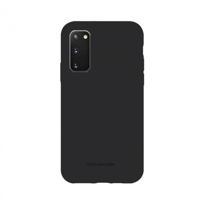 Husa Samsung Galaxy S20 Silicon Negru Molan Cano [0]