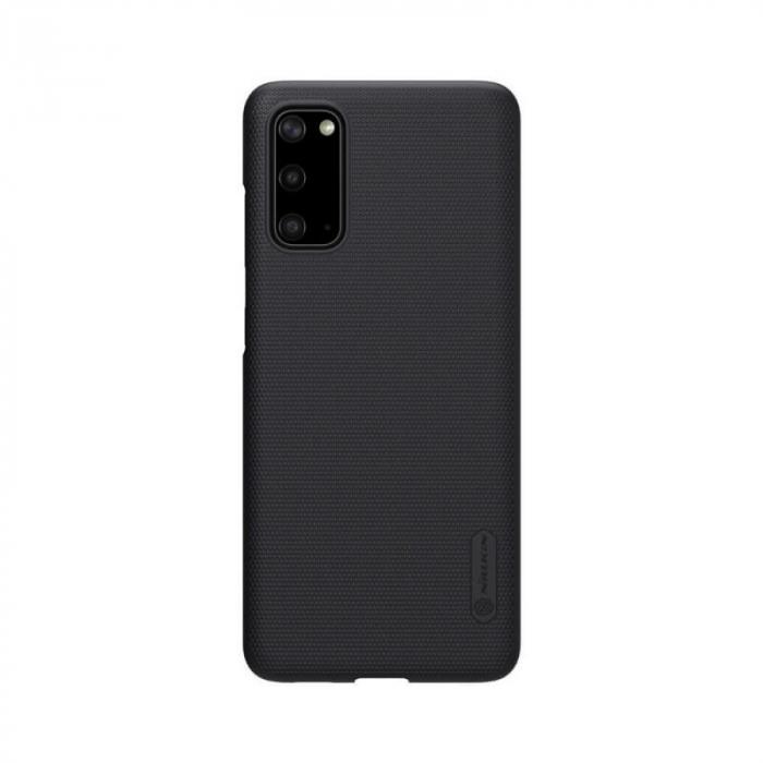 Husa Silicon Samsung Galaxy S20 Negru Nillkin Frosted 0